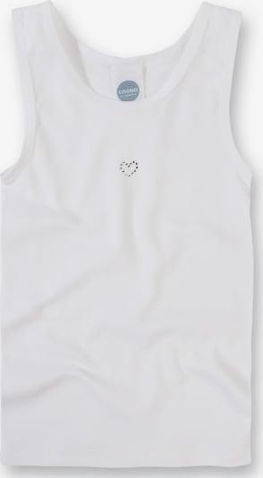 SANETTA Unterhemd in weiß, Produktansicht