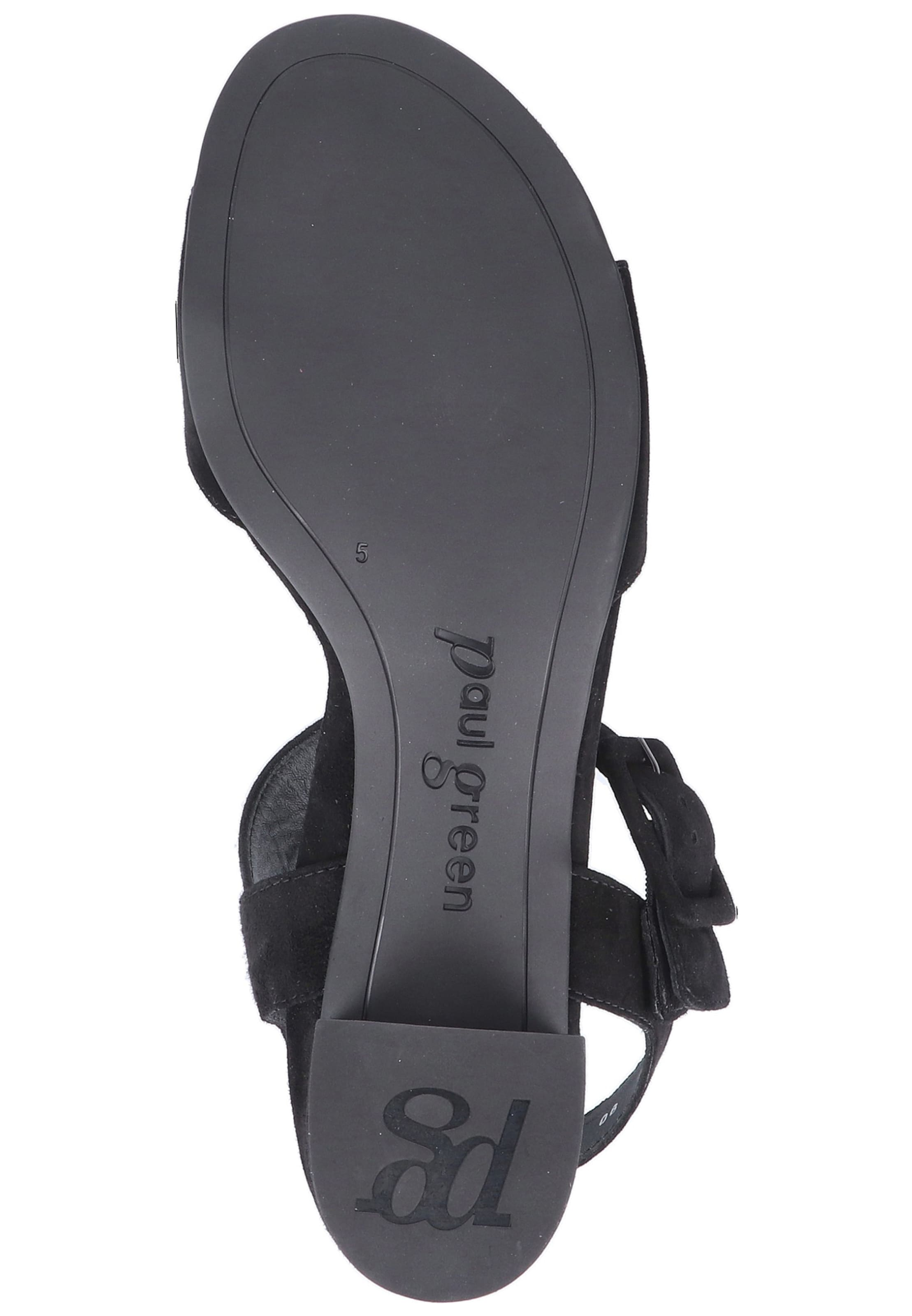 Paul Green In Paul Green Sandalen Schwarz 08vnNwOm