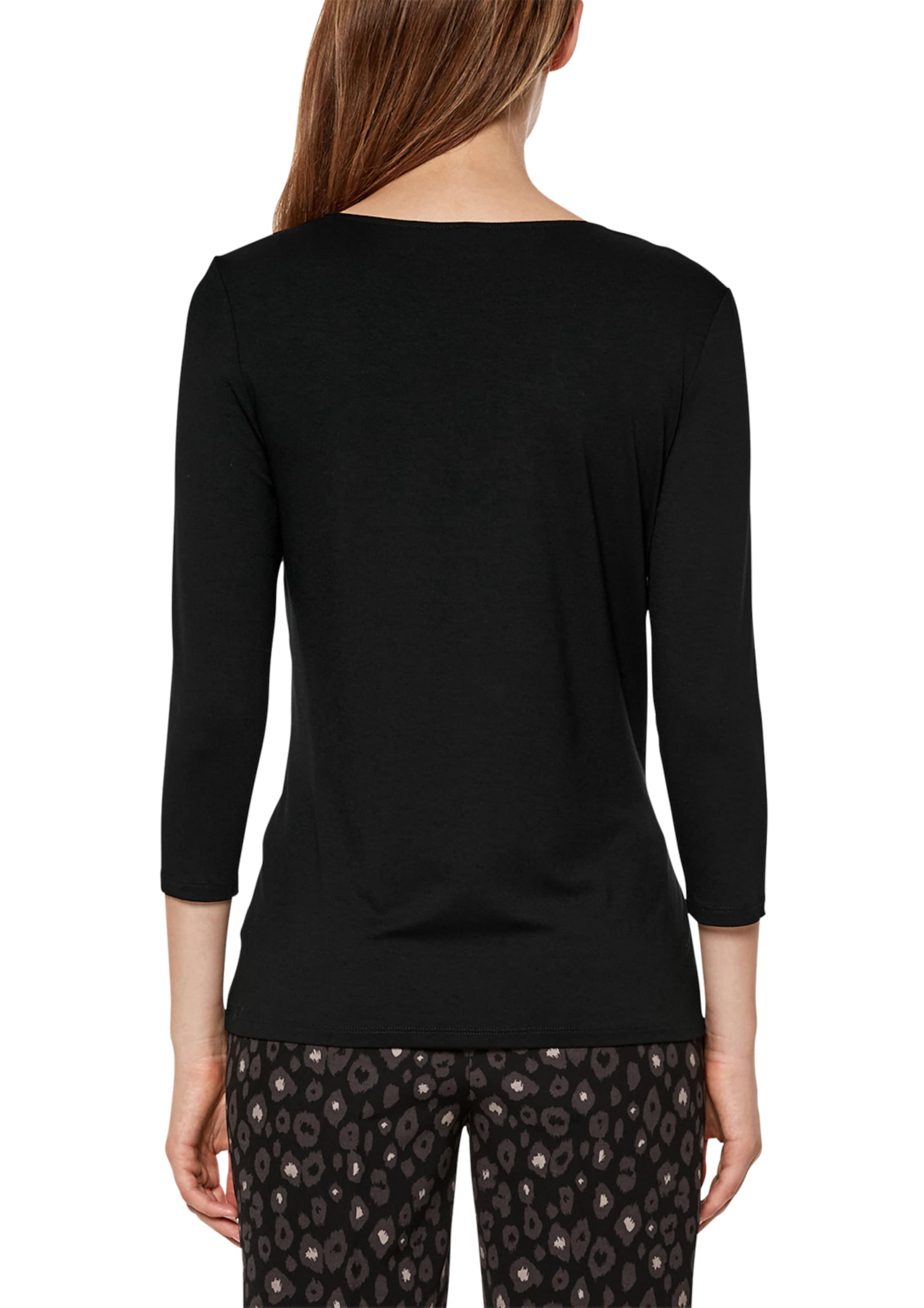 Schwarz Black S oliver Blusenshirt In Label 2IeYWH9ED
