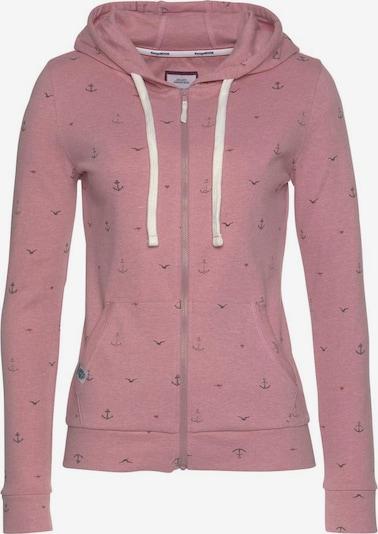 KangaROOS Zip-Up Hoodie in Dusky pink, Item view