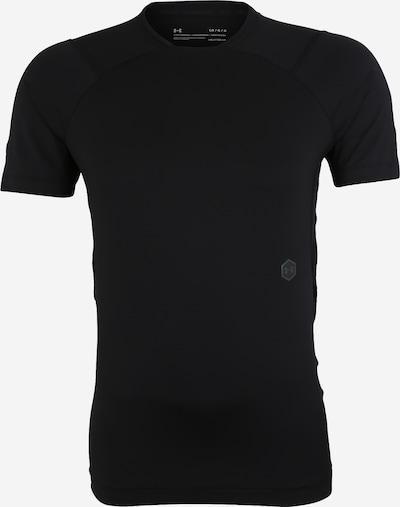 UNDER ARMOUR Sportshirt 'UA Rush Compression SS' in schwarz: Frontalansicht
