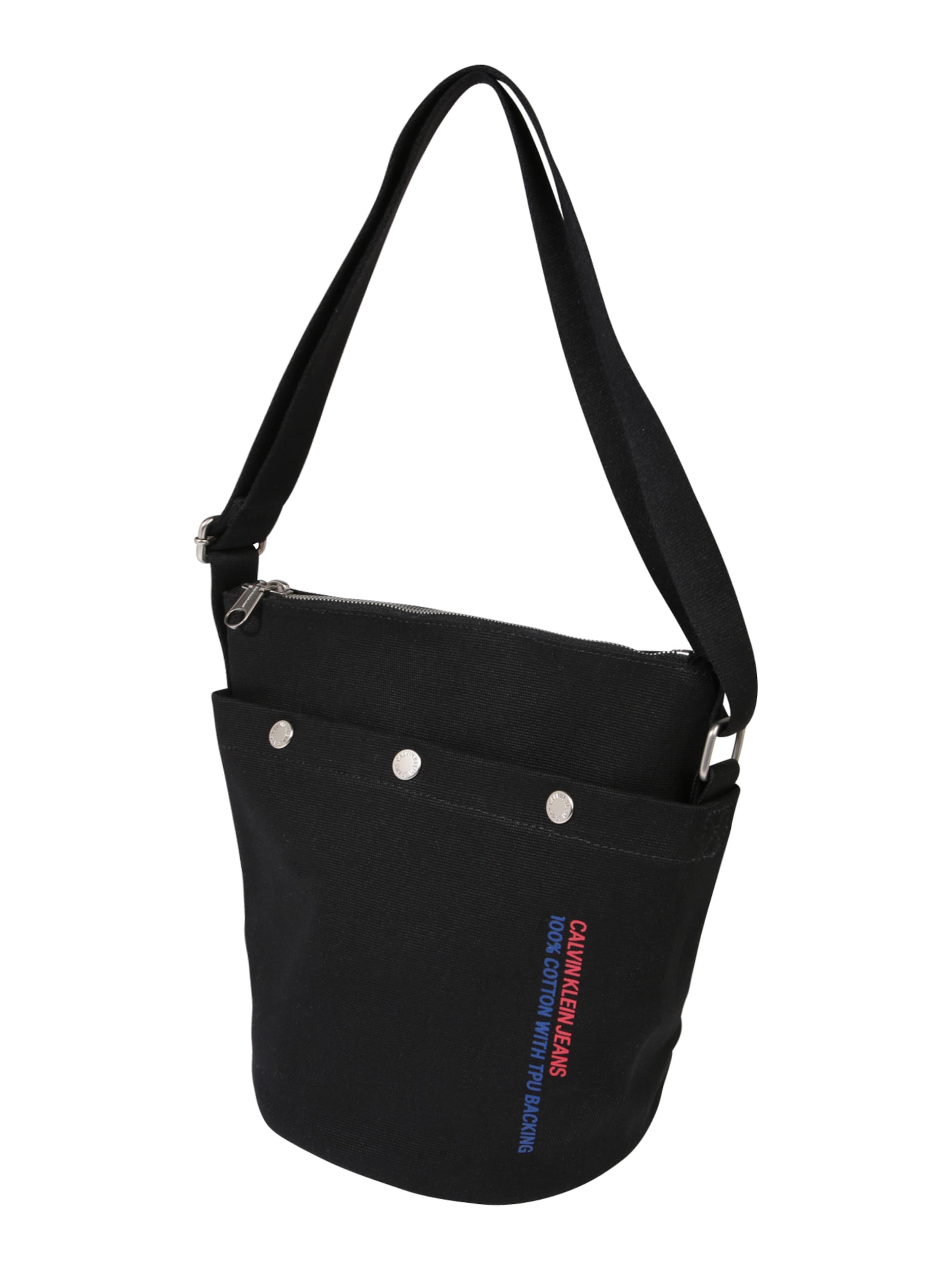 Taschen Pouch' Jeans Schwarz Klein 'bucket Calvin In v8wNm0On