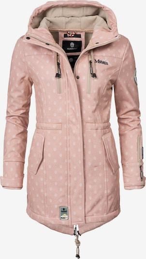 Cappotto funzionale 'Zimtzicke' MARIKOO di colore rosa antico / bianco, Visualizzazione prodotti