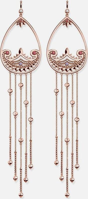 Thomas Sabo Paar Ohrhaken 'Paisley-Design, H1940-633-7'