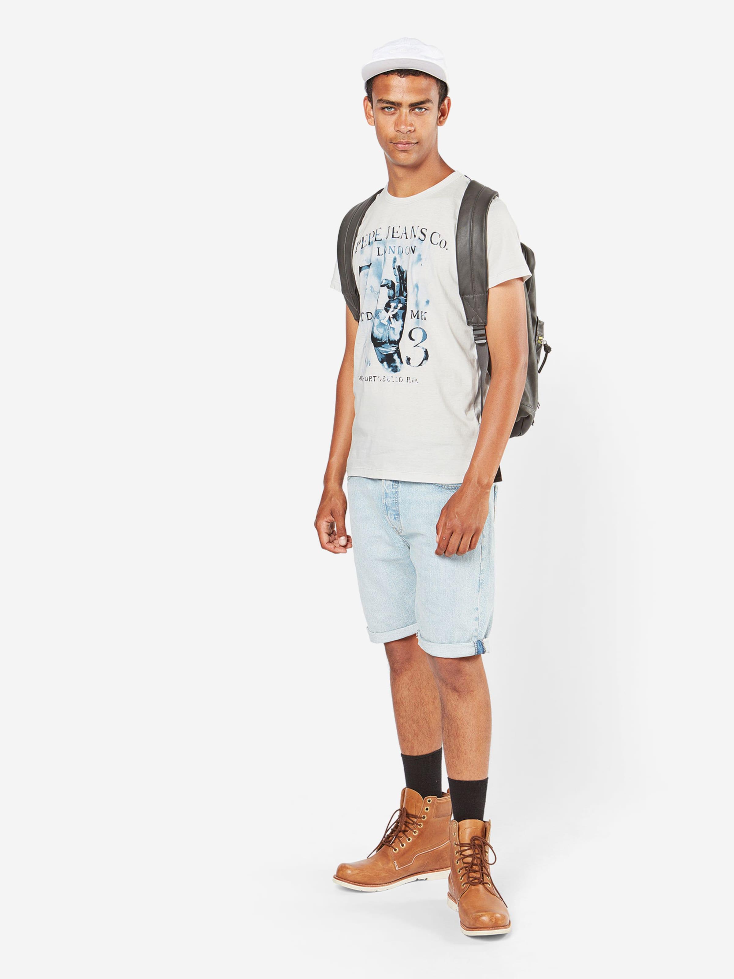 Pepe Jeans T-Shirt 'MOGAN' Original Günstig Online Steckdose Billig Authentisch Top-Qualität Günstiger Preis VmWcG