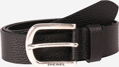 DIESEL Gürtel 'B-Tum' in schwarz / silber, Produktansicht