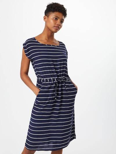 Eight2Nine Kleid in dunkelblau / weiß: Frontalansicht