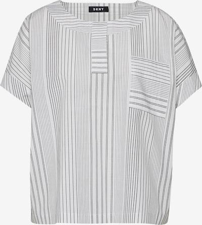 DKNY Bluse in schwarz / weiß, Produktansicht