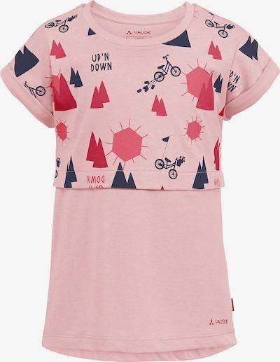 VAUDE T-Shirt 'TAMMAR III' in blau / rosa / rot, Produktansicht