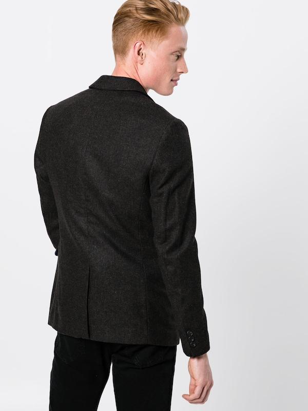 Veste 'casual One En Brushed Marron Pier Herringbone' Costume De XOuwiklPZT