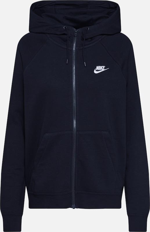 Nike Sportswear Sweatjacke In Schwarz About You