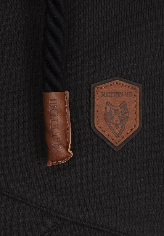 Noir 'lennox' En Sweat Naketano shirt FKJuTl1c3