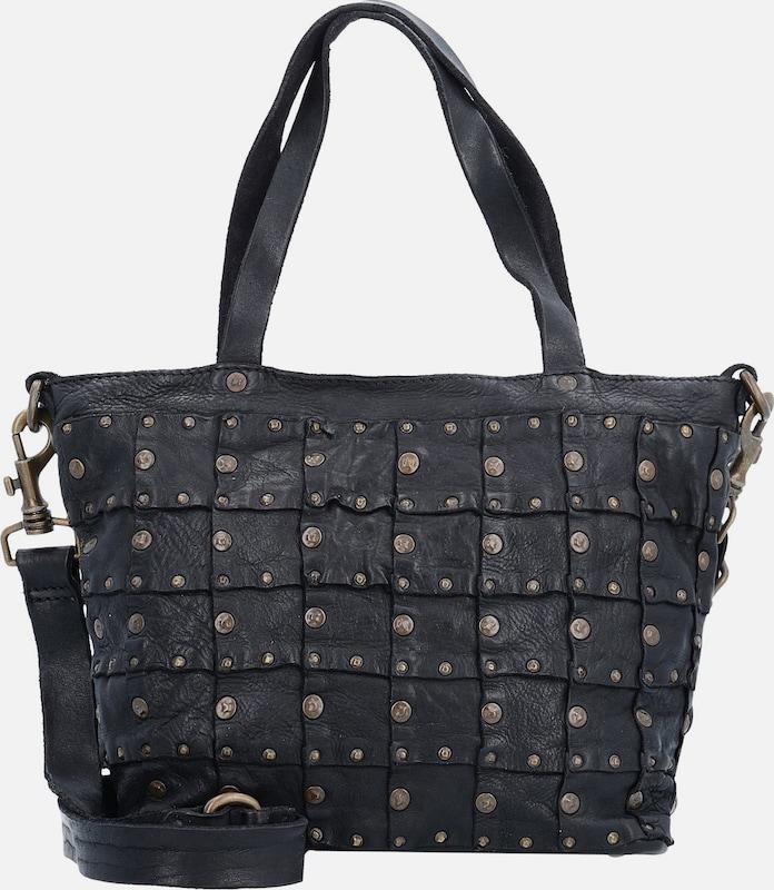 Campomaggi Rivets Vacch Handtasche Leder 26 Cm