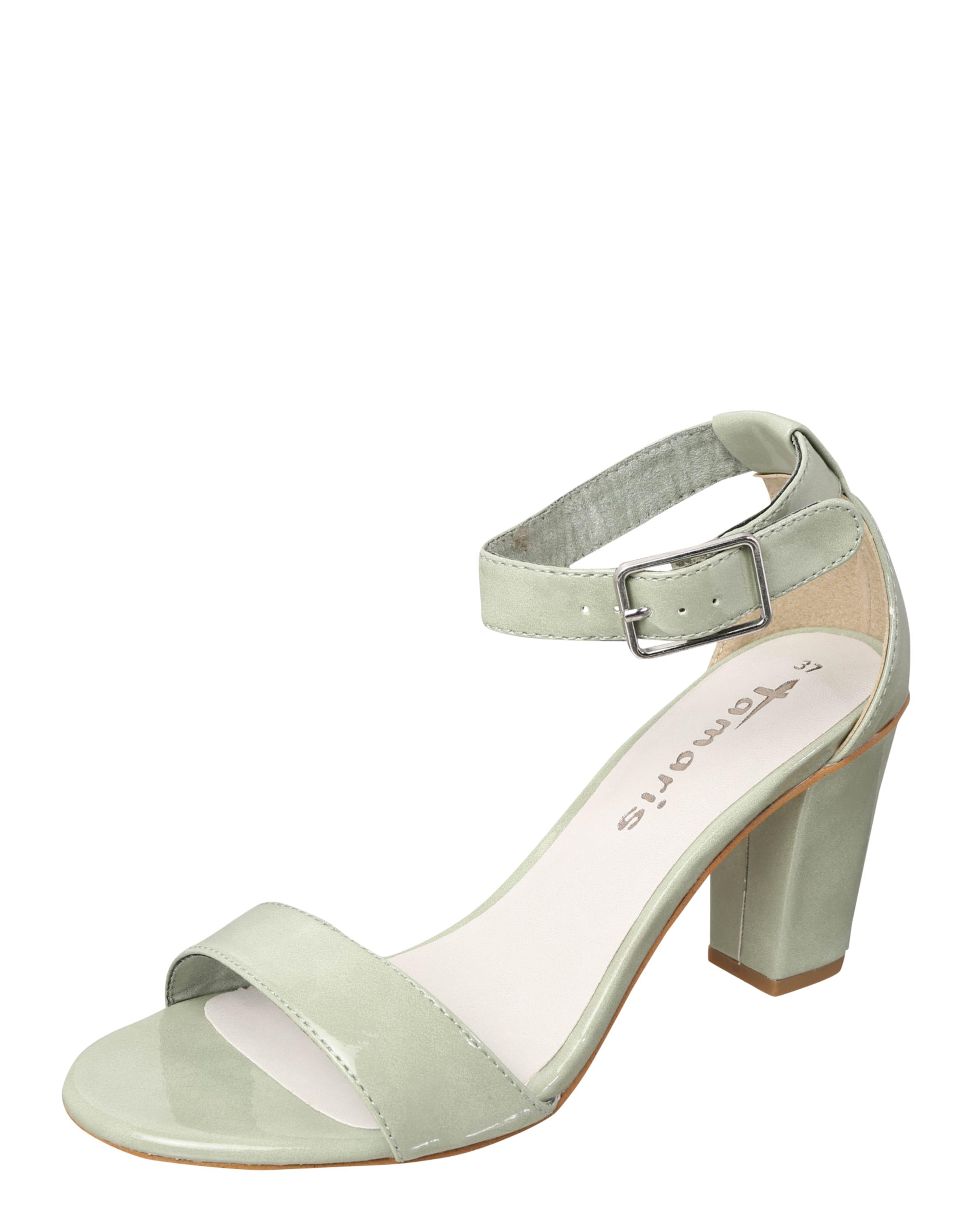 TAMARIS Sandalette in Lack-Optik Rabatt Komfortabel HGbLYz