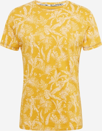 JACK & JONES Tričko 'JORELRON' - žlté: Pohľad spredu