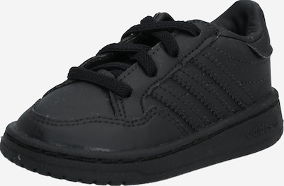 ADIDAS ORIGINALS Sneaker 'TEAM COURT' in schwarz, Produktansicht