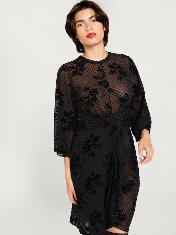 EDITED Kleid 'Sharon' in schwarz  Markenkleidung für Männer Männer Männer und Frauen 56f3d1
