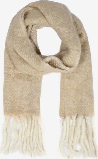 Zwillingsherz Schal in beige, Produktansicht