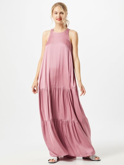 Essentiel Antwerp Robe oversize 'Maxidress' en rose: Vue de face