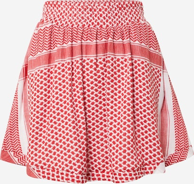Cecilie Copenhagen Sukně - červená / bílá, Produkt
