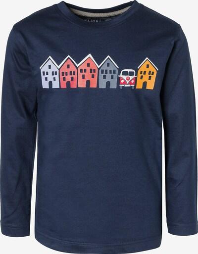 ELKLINE Shirt 'Small House' in dunkelblau / mischfarben, Produktansicht