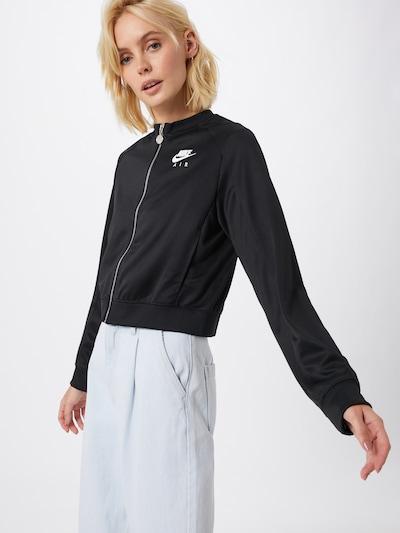 Nike Sportswear Jacke 'AIR' in schwarz: Frontalansicht