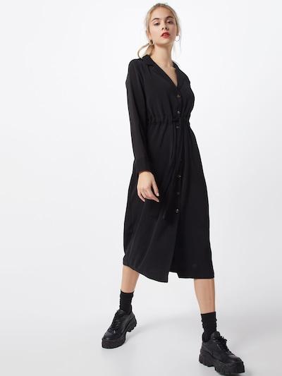 OBJECT Kleid 'MAE' in schwarz, Modelansicht