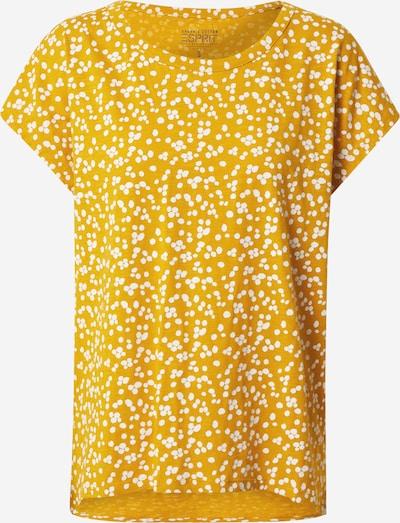 ESPRIT T-Krekls pieejami dzeltens / balts: Priekšējais skats