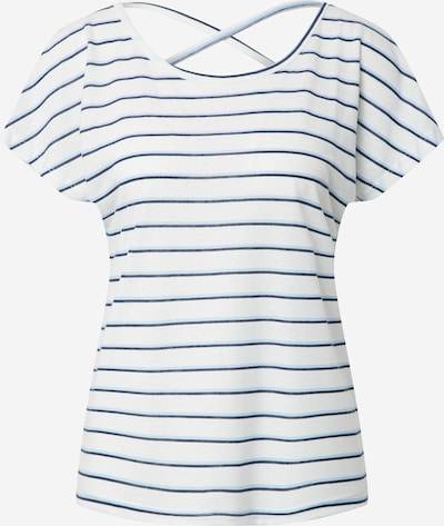 VERO MODA Koszulka 'HANNELUA' w kolorze niebieski / białym, Podgląd produktu