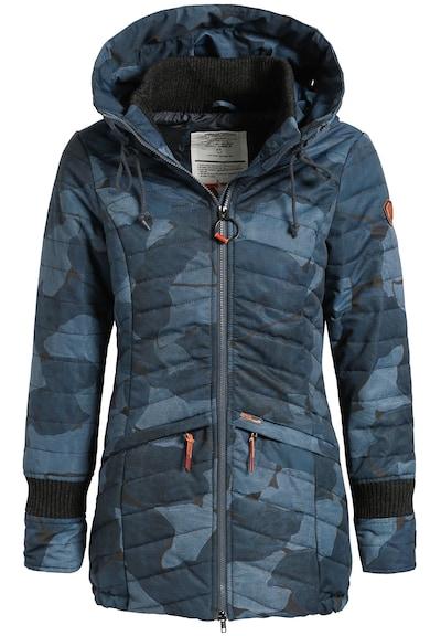 khujo Pullover 'ASYA' in blau / himmelblau / schwarz, Produktansicht