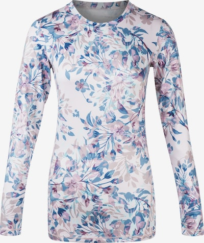 ENDURANCE Performance Shirt 'Forget-Me-Not' in Mixed colors / White, Item view