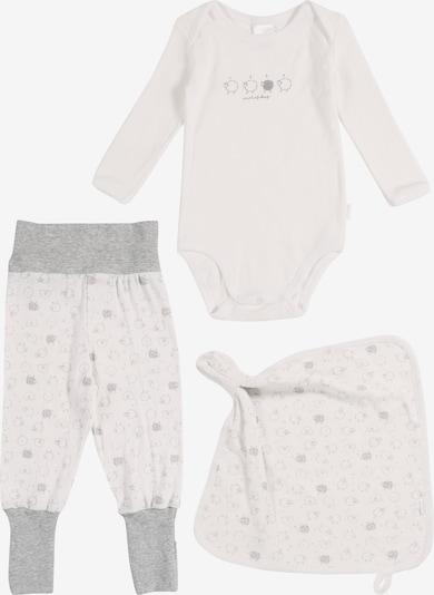 SCHIESSER Baby Set in grau / mischfarben / weiß, Produktansicht