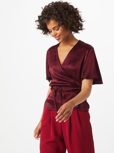 Soft Rebels Blouse in de kleur Bordeaux, Modelweergave
