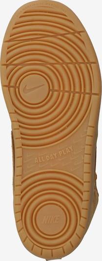 Sportbačiai 'Court Borough Mid 2 Boot' iš Nike Sportswear , spalva - ruda: Vaizdas iš apačios