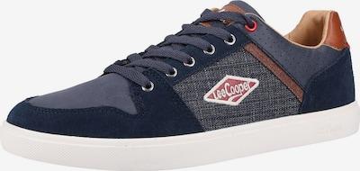 Lee Cooper Sneakers laag in de kleur Donkerblauw / Bruin, Productweergave