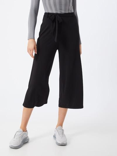 VERO MODA Pantalon 'Milla' en noir, Vue avec modèle
