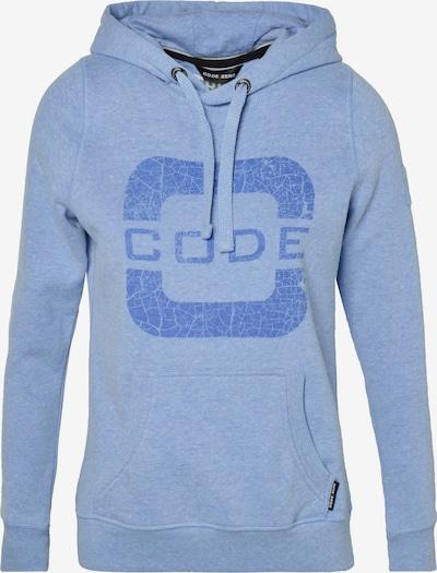 CODE-ZERO Sweatshirt mit Kapuze 'Transire' in blau, Produktansicht