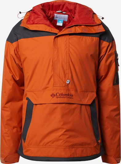 COLUMBIA Outdoor jacket 'Challenger' in navy / dark orange, Item view