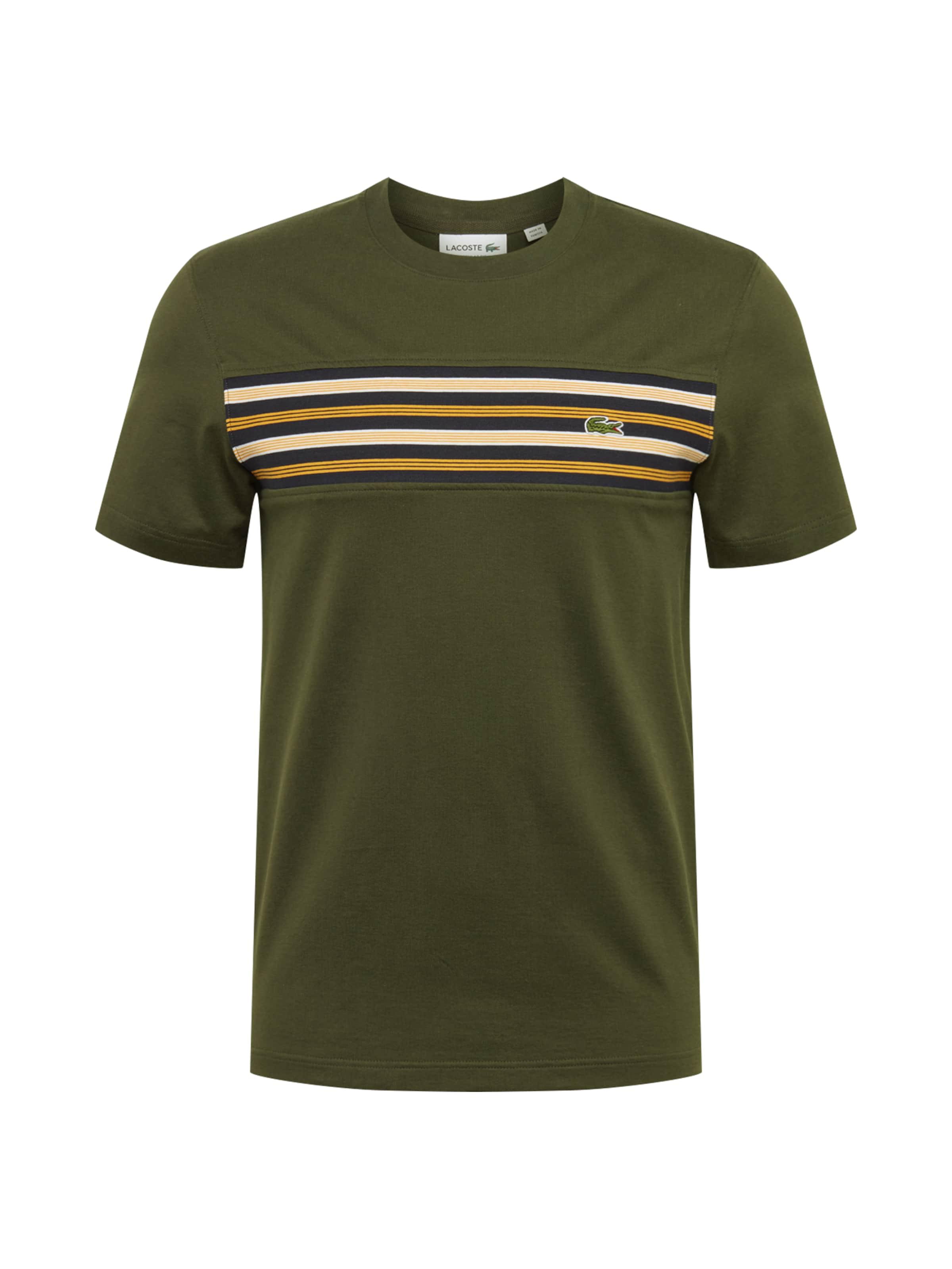 shirt En shirt Lacoste T Olive shirt Lacoste Olive Lacoste T En T Nm0v8nwO