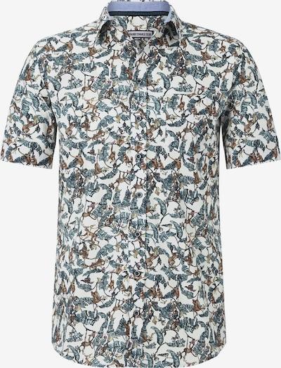 Shirtmaster Hemd in mischfarben / weiß, Produktansicht