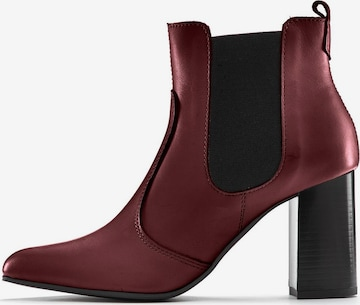 LASCANA Chelsea Boots in Rot