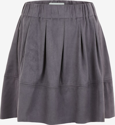 Moves Skater Skirt 'Kia' in dunkelgrau: Frontalansicht