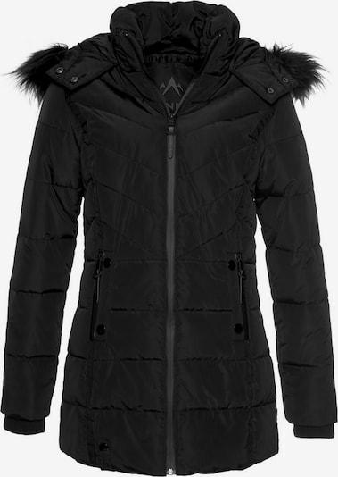 ALPENBLITZ Winterjacke 'Pistenglück' in schwarz, Produktansicht