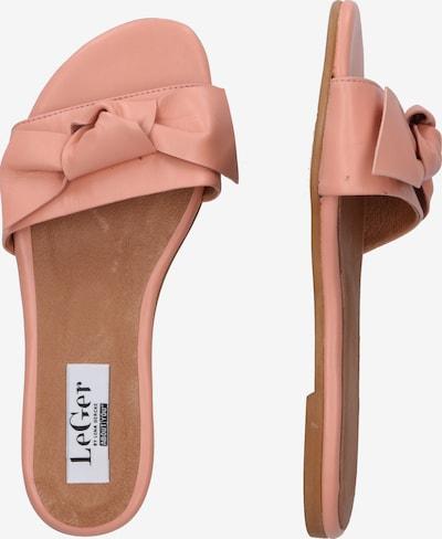 Saboți 'Louise' LeGer by Lena Gercke pe roz: Privire laterală