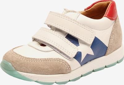 BISGAARD Sneaker in beige / blau / weiß, Produktansicht