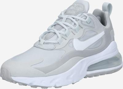 Nike Sportswear Sneaker '270 React' in grau / hellgrau / weiß: Frontalansicht