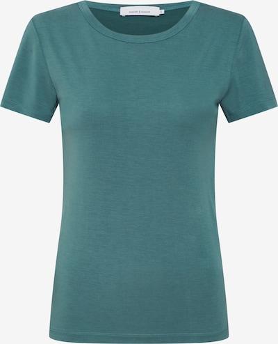 Tricou 'LILA SS 10348' Samsoe Samsoe pe verde: Privire frontală