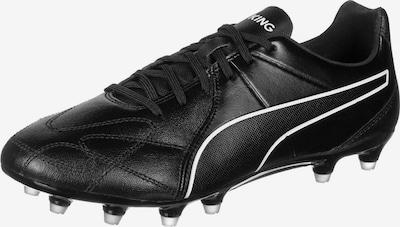 PUMA Fußballschuh 'King Hero' in schwarz / weiß, Produktansicht