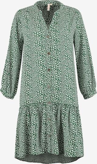 Shiwi Blusenkleid 'Tuvalu' in grün, Produktansicht