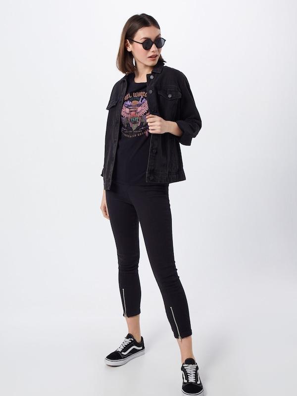CouleursNoir T 'vanessa 1' De Mélange Desires shirt En wOXkn80P